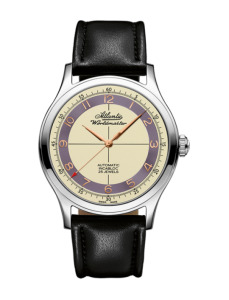 Zegarek męski Atlantic Worldmaster Incabloc 53754.41.93RB