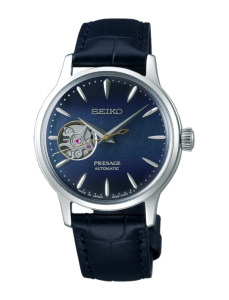 Zegarek damski Seiko Presage Cocktail Blue Moon Open Heart SSA785J1